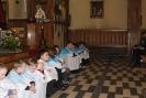 Peregrynacja Krzyża Papieskiego - Msza w nocy